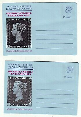 Old  G B  Sir Rowland    Hill   Penny Post Letter Sheet & Aerogramme  = 2 =