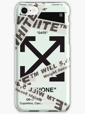 Off White Belt Wrapped Iphone Case X 6 7 S 8 Plus Off White
