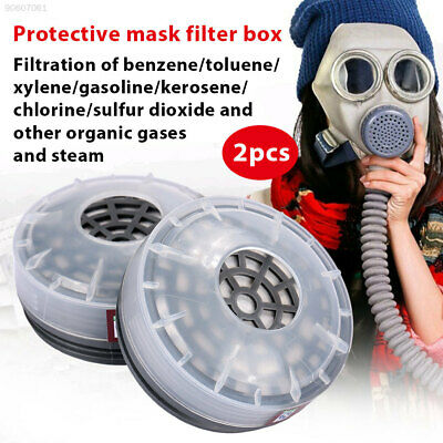 6886 2pcs Filters Boxes Respirator Boxes Industrial Facility Spray
