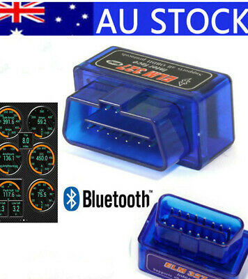 Bluetooth Scanner OBDII OBD2 Car Torque Android CAN Tool Auto Scan Diag AU!