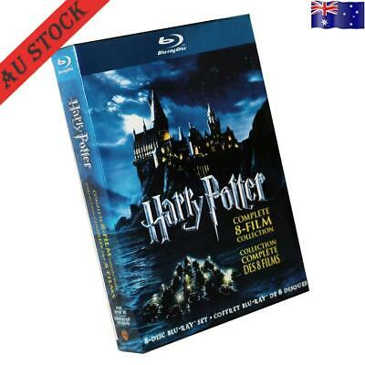 Harry Potter 1-8 Movie DVD Films Box Complete 1-8 Film Collection New Sealed