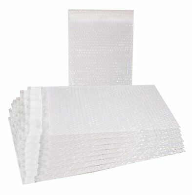 25 Pack of Bubble Out Bags 8 x 15.5 Self-Sealing Packing Bags. Protective pouch.