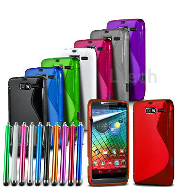 Slim, Lightweight S-Line Silicone Gel Phone Case Cover for Various Models MB17