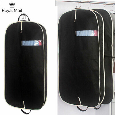 Travel Carrier Hand Bag Suit Dress Coat Garment Bag Dust Cover Folding Protector