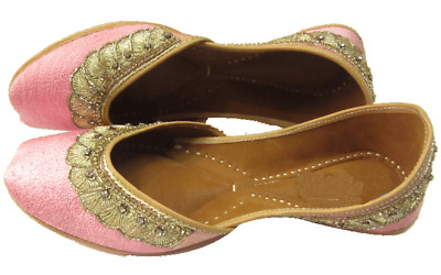 e174860f5c7 punjabi jutti khussa shoes bridal shoes ethnic shoes mojari Juti women  Footwear