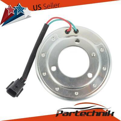 AC COMPRESSOR CLUTCH Pulley Bearing Coil Plate Kit For 08-13 Nissan