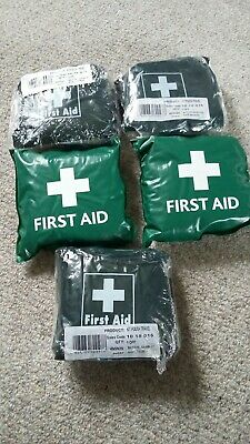 First Aid Kit X5 New Un-Opened Small Compact Travel Kit FIRST AID