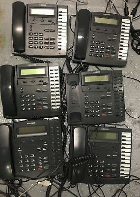Job Lot Bundle Samsung KPDCS SLI 12b LCD SLI Telephone Handset Work Office Phone