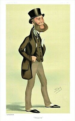 Archibald Philip Primrose, Earl Rosebery - MP & PM - By SPY for Vanity Fair-1876