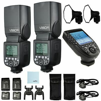 Godox Sony V860II Ving Two Speedlite Kit | Godox XPRO Sony Trigger Bundle