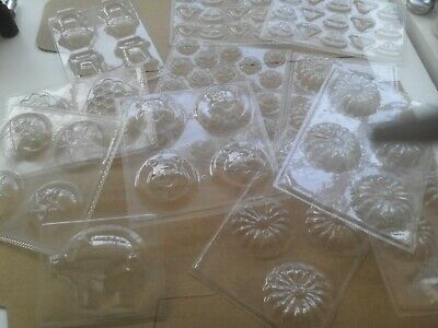 Craft Soap/candle/plaster/ craft moulds £50 worth of 12 Denny Craft Brand New