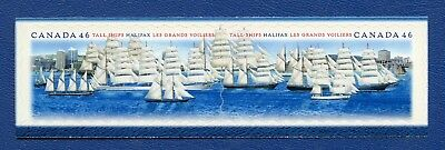 CANADA SC# 1865a TALL SHIPS SE-TENANT PAIR GREAT CONDITION, MNH VF STAMPS