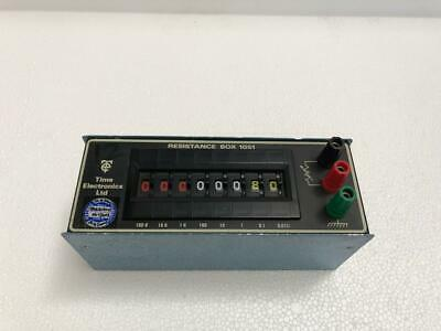 Time Electronics 1051 Decade Resistance Box Resolution 0.01Ω -Free Shipping-