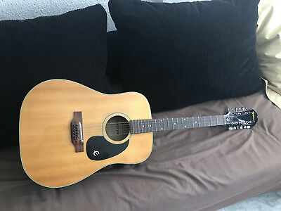 EPIPHONE FT-160N, Texan 12 cuerdas, JAPAN, Norlin series