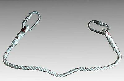 Climax Restraint Lanyard 1.3m With 2 x Carabiners