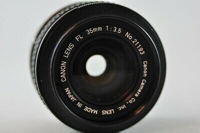 [Used] CANON FL 35mm f/3.5 Manual Lens