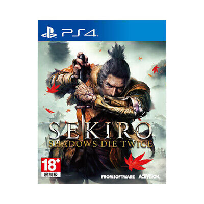 Sekiro Shadows Die Twice PlayStation PS4 2019 Chinese English Factory Sealed