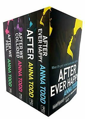 Anna Todd After Series Collection 4 Books Set