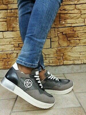 SNEAKERS  Henry Cotton´s 1413 GREY SCARPE SPORTIVE GINNASTICA SHOES