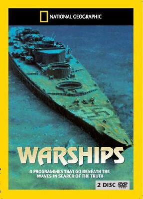 National Geographic - Warships (DVD) (New & Sealed)