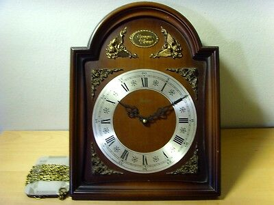 Used - WATCH WALL WITH CHIME BOX WOOD - Item For Collectors