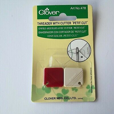 Thread Cutter and Needle Threaders, Clover, M12