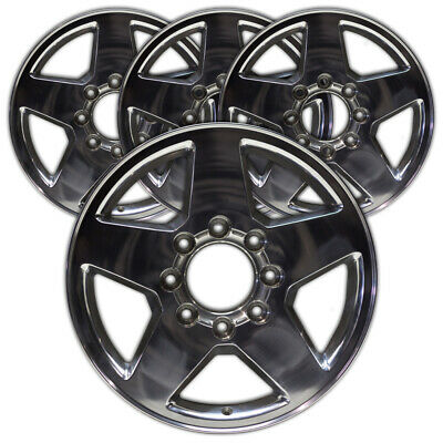 "20"" Polished Rim by JTE for 2011-2015 Chevy Silverado HD (20x8.5) [Set of 4]"