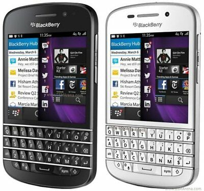 New *UNOPENDED* BlackBerry Q10 - 16GB (Unlocked) Smartphone