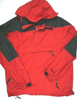3392329e8 THE NORTH FACE HYDRENALINE hooded red pullover jacket windbreaker mens XL