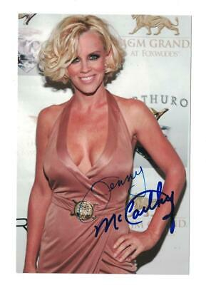 Jenny McCarthy Signed Autographed 4x6 Photo Actress Model Sexy