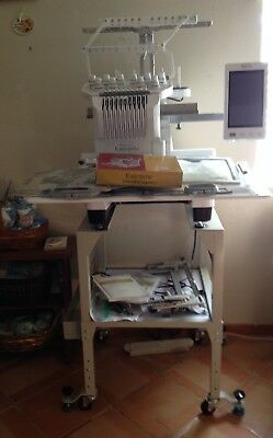 Baby Lock Enterprise Embroidery Machine With Upgrade and Stand RTS 14 SCS 380007
