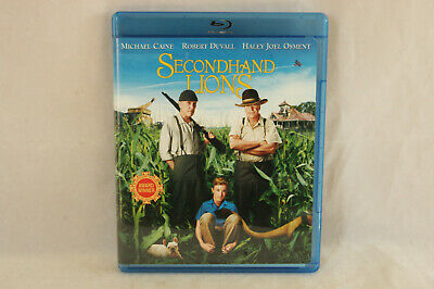 Like New Used Blu-Ray Comedy Movie Secondhand Lions Robert Duvall Haley J Osment