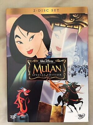 Mulan (DVD, 2004, Widescreen, 2-Disc Set, Special Edition), Like New, Family
