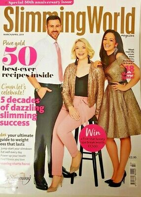 Slimming World Magazine March/april 2019 = 50 Best Ever Recipes Inside