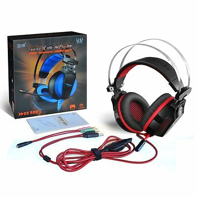 Cuffie gioco headset gaming AOSO GS500 - PC/PS4/XBOX Stereo Bass Microfono Led -