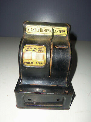 Vintage Durable Toy & Novelty Corp Coin Bank