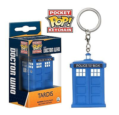 Funko Pocket Pop: Doctor Who - Tardis Keychain Figure in Vinyl