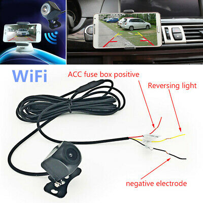 150° WiFi Wireless Car Rear View Cam Backup Reverse Camera For iOS Android Sale