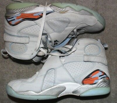 3bf7a48183c5 Rare 2012 Nike Air Jordan Retro 8 VIII Ice Blue Size 12 Pre Owned Beaters
