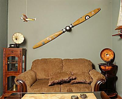 Airplane Propeller 79 Vintage Aviation Wooden Wall Decor