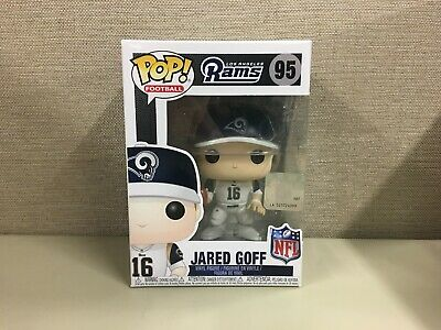 Funko Pop! Football: NFL - Jared Goff Los Angeles Rams Quarterback #95 NIB