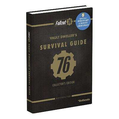 Fallout 76: Official Collector's Edition Guide [Brand New]