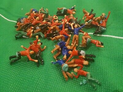 Subbuteo 50 Painted Spectators Fans In Good Condition