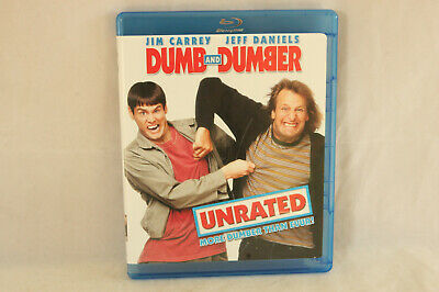 Like New Used Blu-Ray Comedy Movie, Dumb & Dumber: Unrated, Jim Carrey