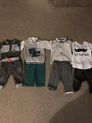 baby boy clothes 3-6 months bundle, 4 gorgeous outfits