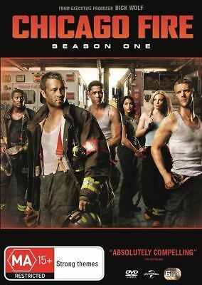 Chicago Fire : Season 1 (DVD, 2014, 6-Disc Set), NEW SEALED AUSTRALIAN