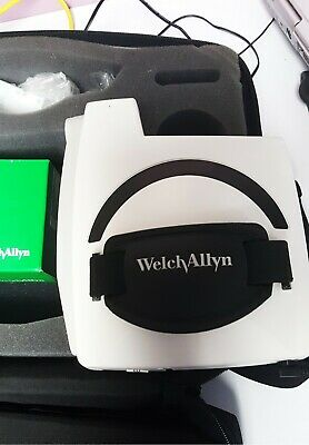 Welch Allyn Sure Sight Hand Held AutoRefractor works well, specially with kids.