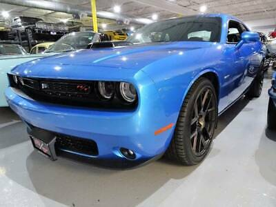 2016 Dodge Challenger R/T Plus Shaker 2dr Coupe 2016 Dodge Challenger R/T Plus Shaker HEMI only 7,700 miles LIKE NEW B5 Blue