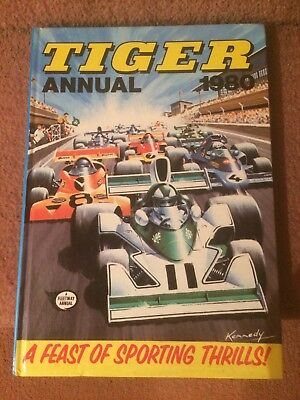 Tiger annual 1980, Unclipped, In Very Good Condition, No Pen Marks