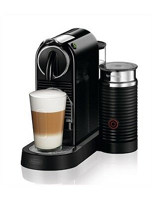 Nespresso EN267.BAE CitiZ & Milk Espresso Machine by Delonghi, Black